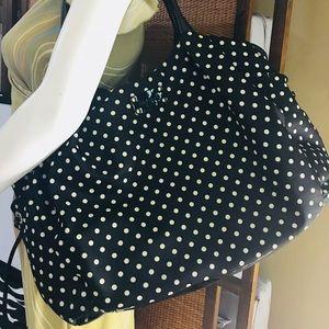 Kate Spade Fabric Polka Dot Baby Diaper Bag